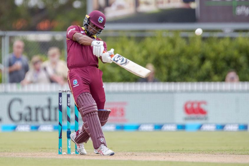 Evin Lewis will form a daunting opening partnership with Chris Gayle