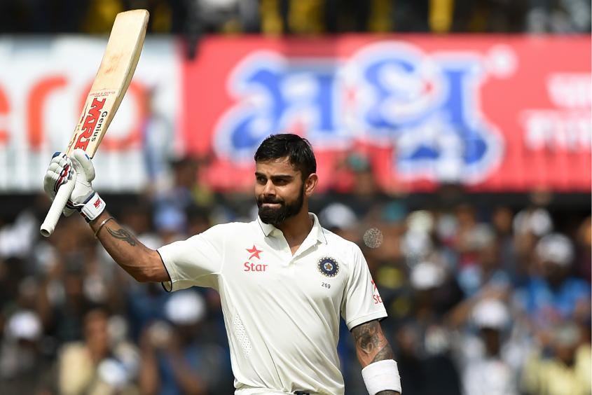 Virat Kohli topped the run-getters' charts with 655 runs