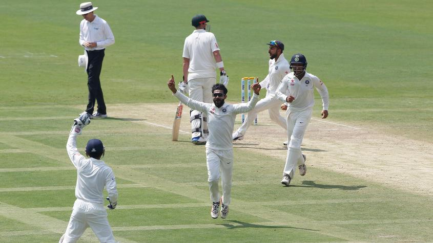 Ravindra Jadeja made inroads with his left-arm spin to return 6/63 in the first innings