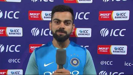 Virat Kohli's message to fans