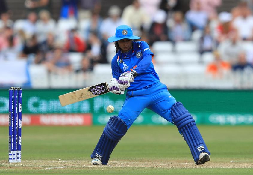 Mithali Raj scored an assertive 50-ball 62 to power India