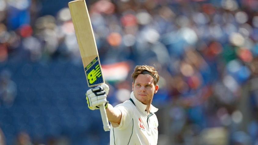 On a spiteful pitch with uneven bounce, Steve Smith battled for 256 minutes to score a solid 109