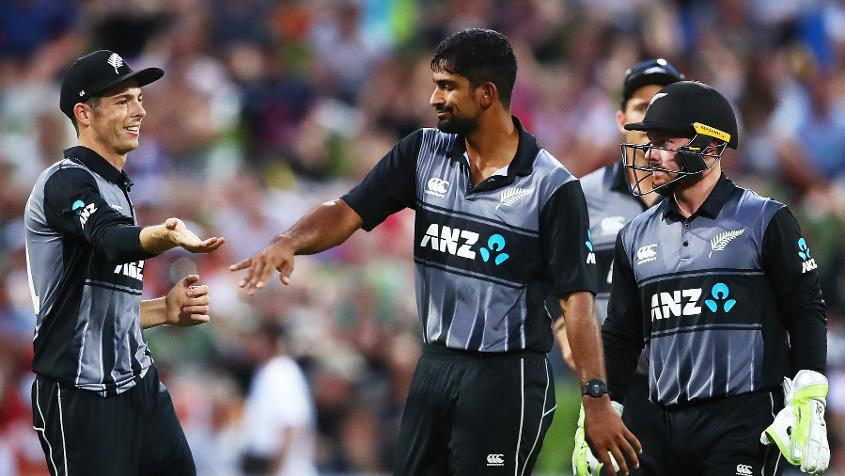 Ish Sodhi had a number of good performances in the T20I tri-series