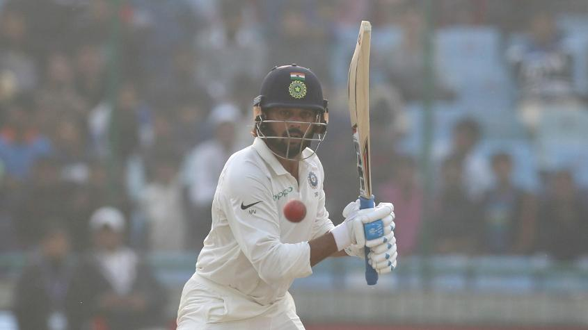 Murali Vijay is only behind Virat Kohli and Cheteshwar Pujara in India's run-scoring charts through the successful run