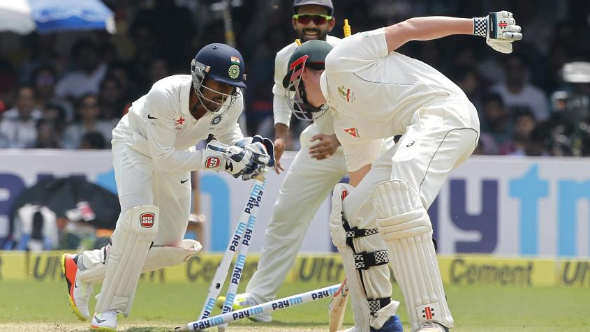 Wriddhiman Saha was outstanding behind the stumps and made key contributions with the bat