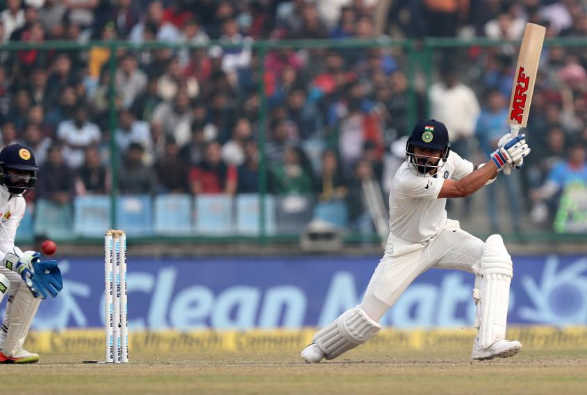 Kohli also became the third Indian to hit six doubles after Virender Sehwag and Sachin Tendulkar