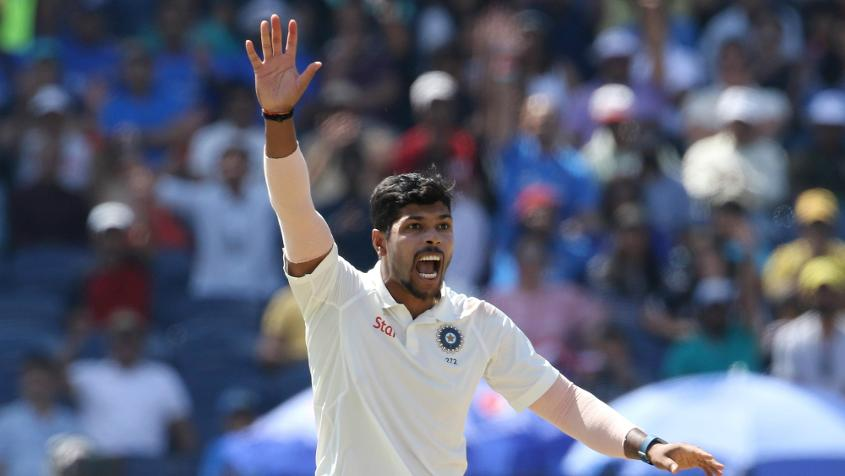 Umesh Yadav was the best of the Indian paceman during the home leg of matches, especially against Australia
