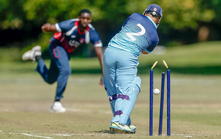 Cayman Islands' victory was set up by their bowlers