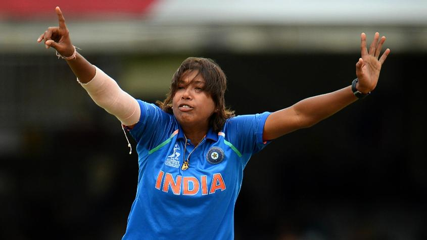 Jhulan Goswami is out of action with a heel injury