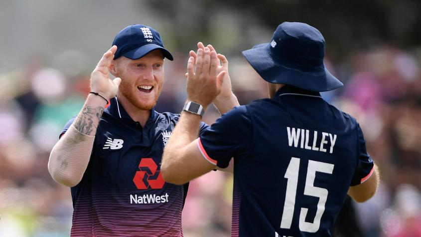 David Willey and Ben Stokes