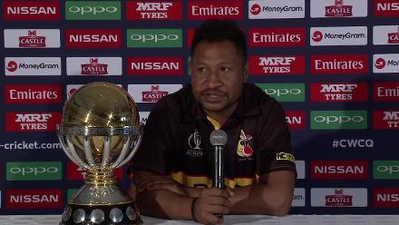 PNG captain Assad Vala speaks ahead of ICC CWCQ