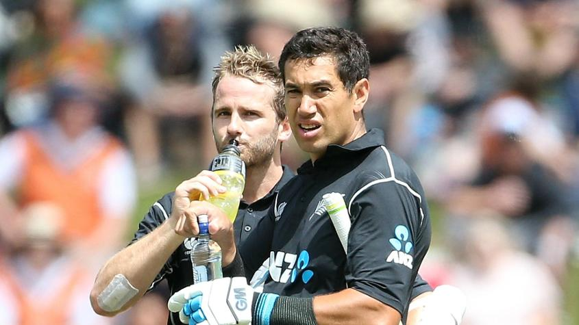 Kane Williamson and Ross Taylor