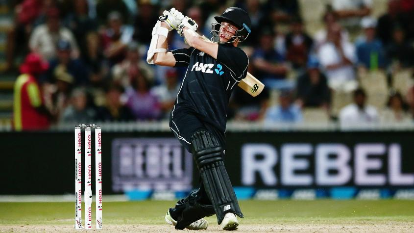 Mitchell Santner has shored up the New Zealand innings in both games