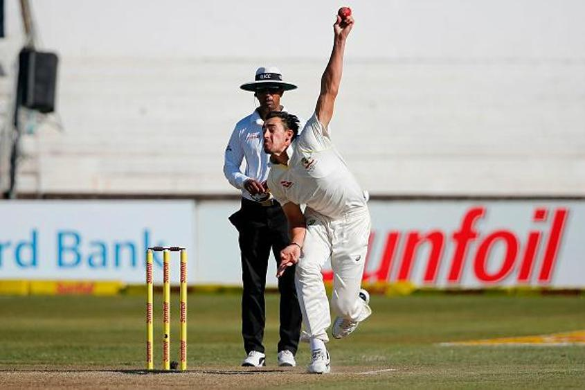 Mitchell Starc was outstanding, returning 5/34 to rip through the South African batting