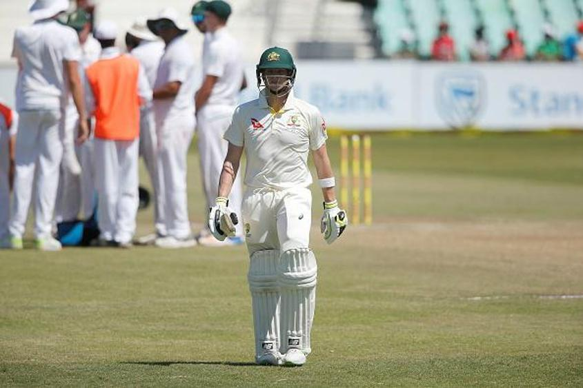 Steve Smith got to 38 but could not convert it into a big score
