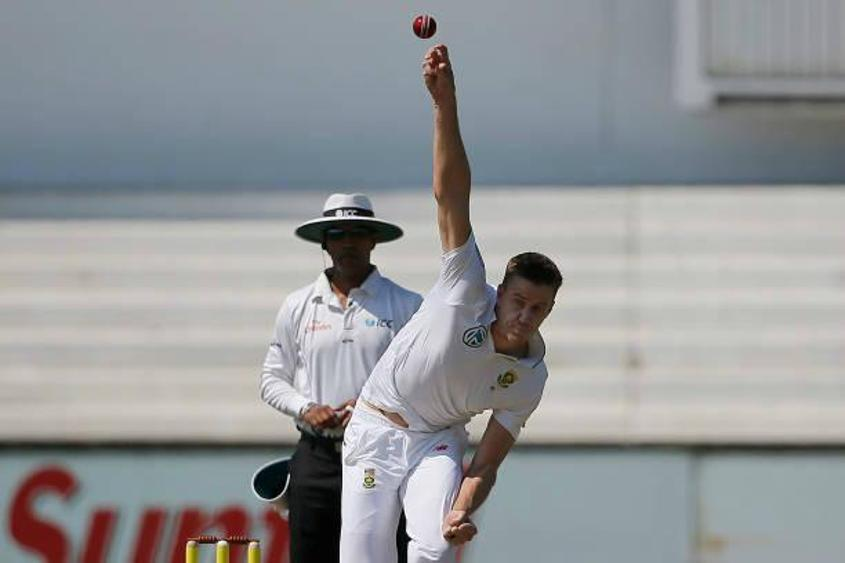 Morne Morkel, who would retire from all international cricket at the end of the series, picked up three wickets on day three