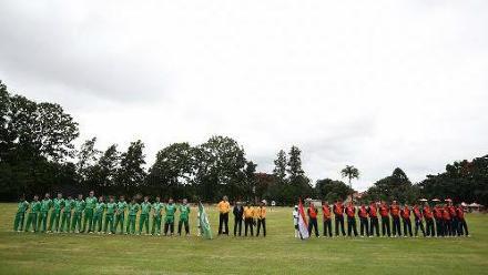 Match 2: Ireland v the Netherlands