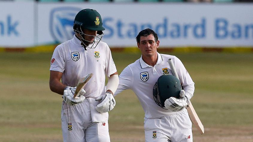 Aiden Markram and Quinton de Kock added 127 runs together