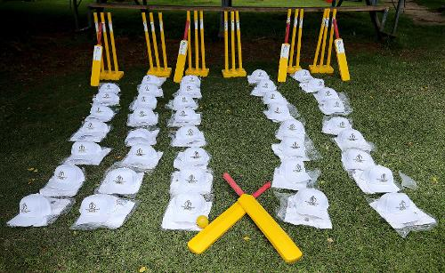 An ICC Cricket For Good training session took place at Heath Streak academy in Bulwayo on Sunday 4 March.