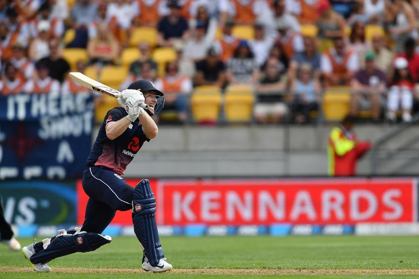 Eoin Morgan held the innings together twice in two matches with responsible batting