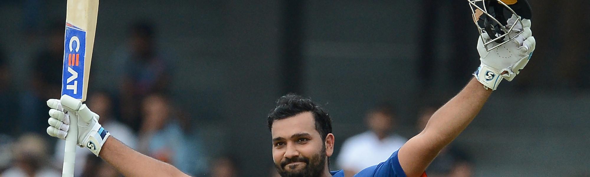 Rohit Sharma will lead India