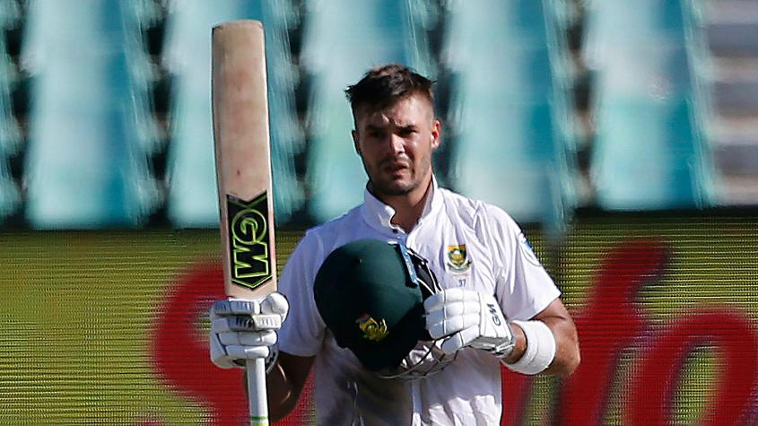 Aiden Markram scored 143 as South Africa ended the fourth day on 293/9