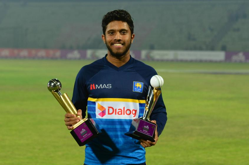 Kusal Mendis picked up Player of the Match and Player of the Series against Bangladesh
