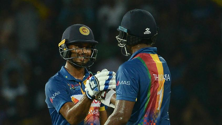 Sri Lanka started the tri-series well, with a five-wicket win over India