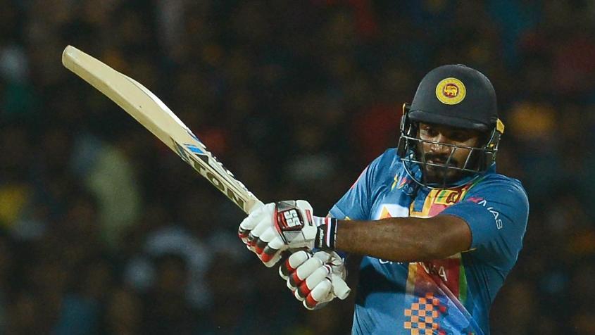 Kusal Perera smashed a 37-ball 66 to lead the Sri Lankan charge