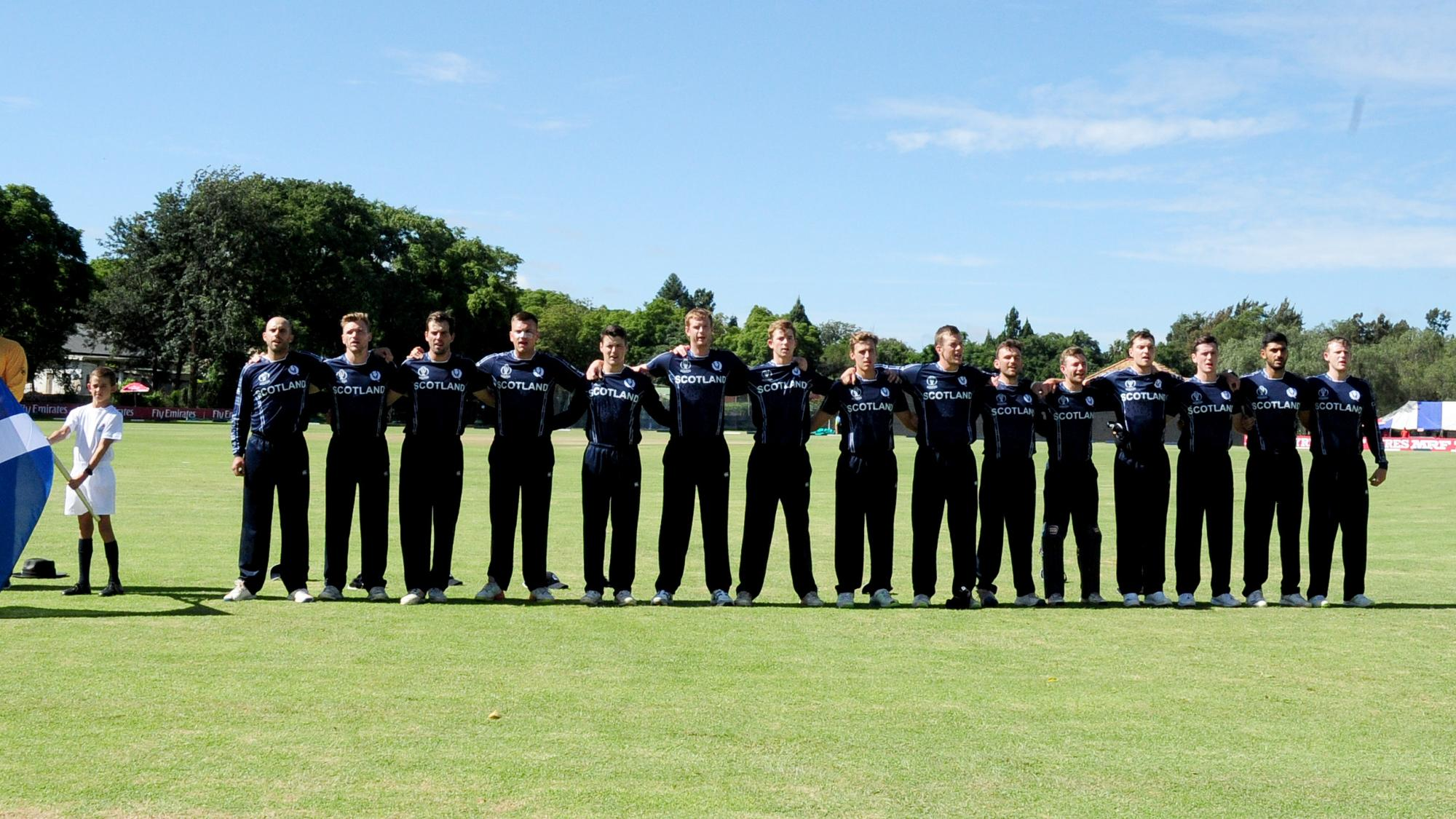 Hong Kong v Scotland, Group B, ICC World Cup Qualifiers