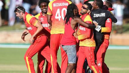 The winning moment brought huge celebrations for Zimbabwe and their fans