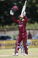 Hetmyer acknowledges his maiden ODI century