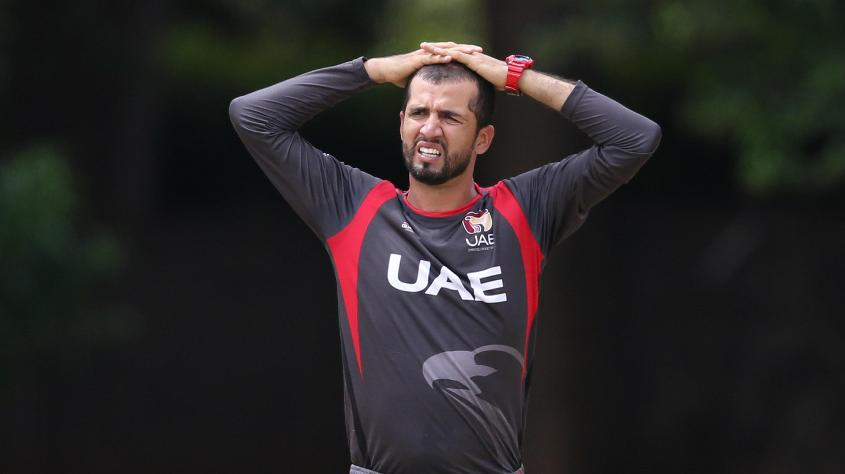 It wasn't a happy day out for the UAE bowlers