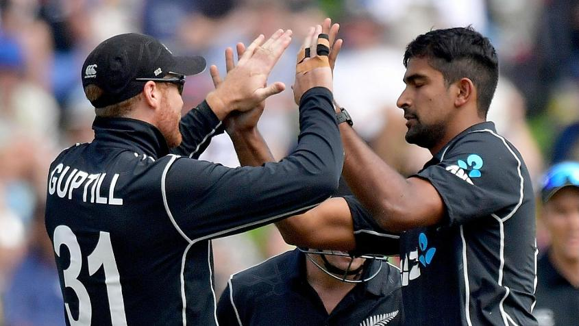 Ish Sodhi put the brakes on England's progress with a four-wicket haul