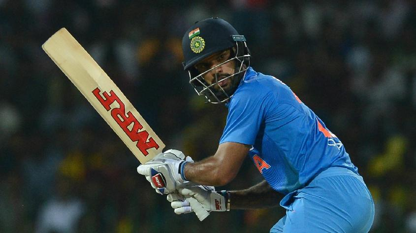 Shikhar Dhawan was the brightest spark in India's batting effort in the first game