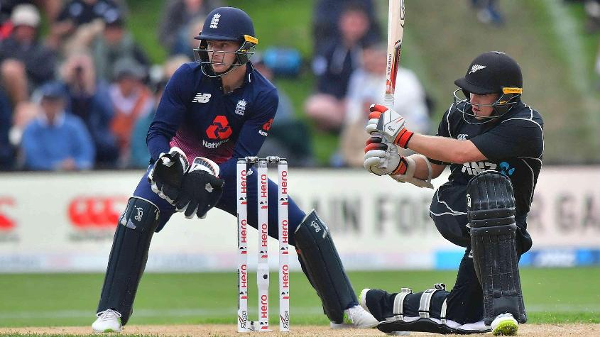 Tom Latham gave Ross Taylor excellent company with a 67-ball 71