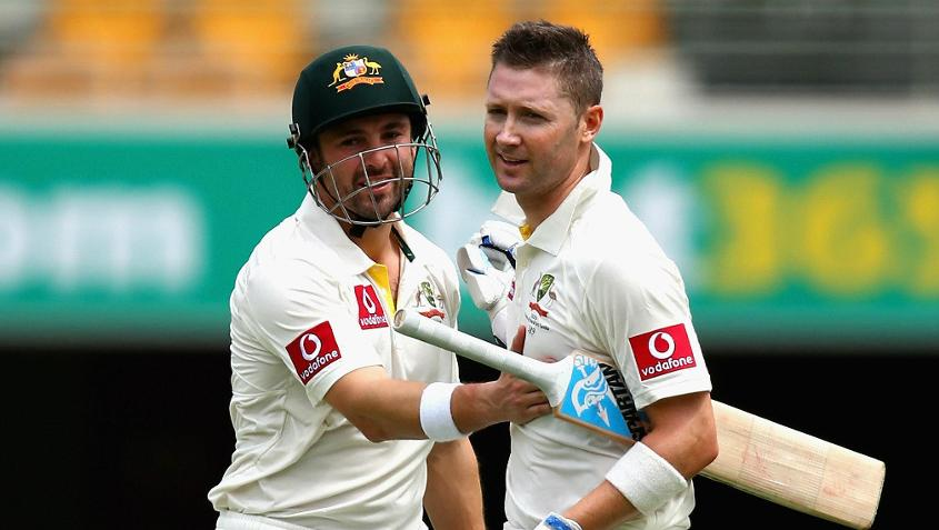 Ed Cowan scored his only Test century against South Africa in Brisbane in November 2012