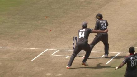 CWCQ: Ben Cooper run out by Rohan Mustafa