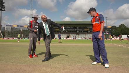 CWCQ: Netherlands win the toss and bat v UAE