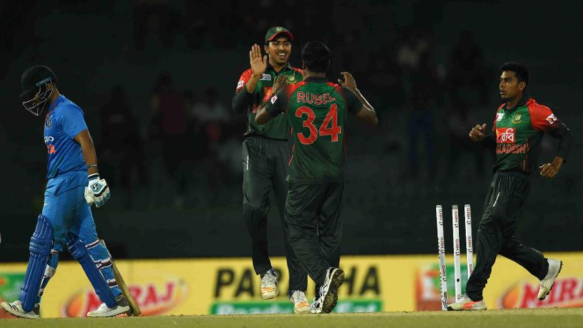Rubel Hossain was in good form, leading the Bangladesh attack despite a small total to defend