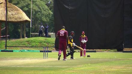CWCQ: Sese Bau bowled by Carlos Braithwaite