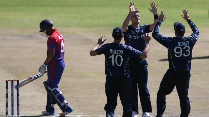 Stuart Whittington picked up three wickets early to derail Nepal's plans