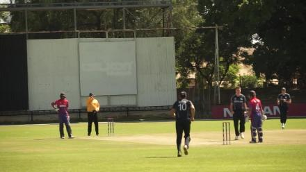 CWCQ: Nepal's Dipendra Singh out lbw to Scotland's Stuart Whittingham