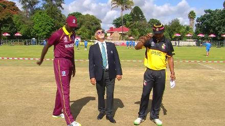 CWCQ: Papua New Guinea win toss and will bat first against West Indies