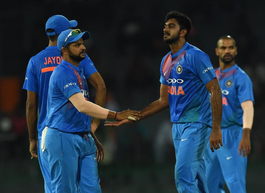 Vijay Shankar picked up his first international scalp