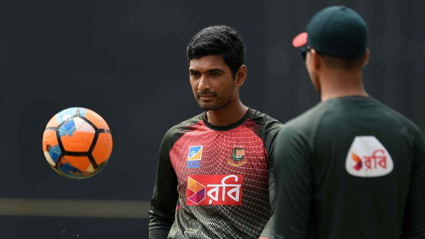 Mahmudullah has to lift the morale of his team after the loss to India