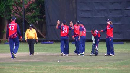 CWCQ Wicket: Charles Amini