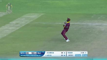 CWCQ: Kemar Roach bowling highlights