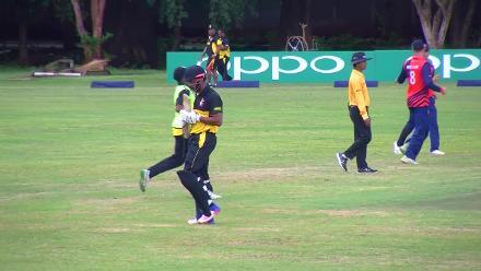 CWCQ Wicket: Norman Vanua