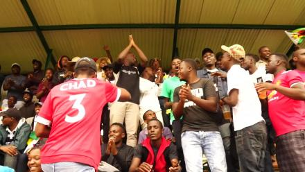 Chevrons fans throng Queens Sports Club